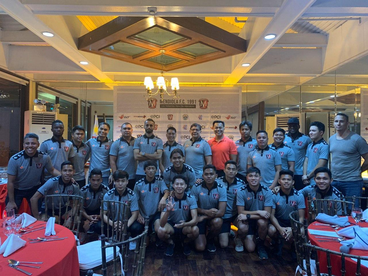 Mendiola FC 1991 introduces player lineup and unveils kits for PFL Season 2020